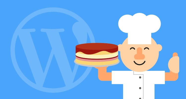 Cooking up a simple wordpress website